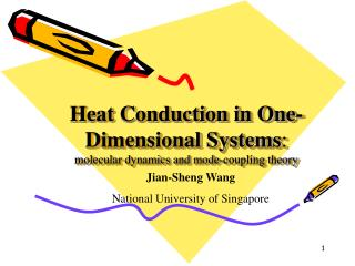 Heat Conduction in One-Dimensional Systems :      molecular dynamics and mode-coupling theory