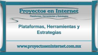 Proyectos en Internet