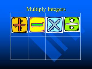 Multiply Integers