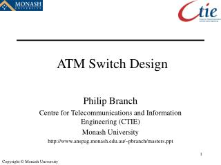 ATM Switch Design