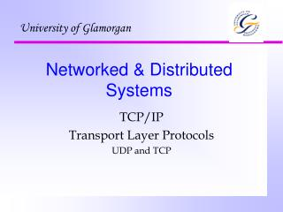 Networked & Distributed Systems