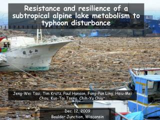 Resistance and resilience of a subtropical alpine lake metabolism to typhoon disturbance