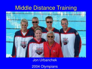 Middle Distance Training