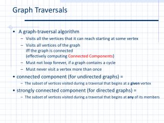 Graph Traversals