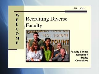 Faculty Senate Education Equity Committee