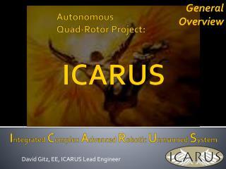 Autonomous Quad-Rotor Project: