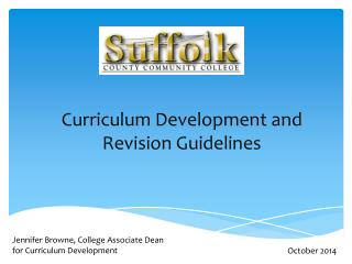 Curriculum Development and Revision Guidelines