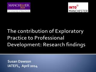 The contribution of Exploratory Practice to Professional Development: Research findings