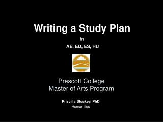 Prescott College Master of Arts Program