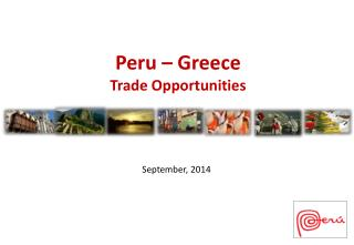 Peru – Greece Trade Opportunities