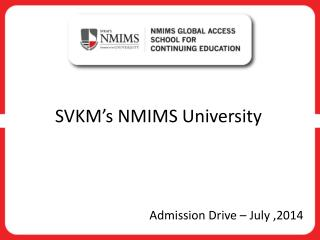 SVKM's NMIMS University