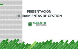 PRESENTACIÓN HERRAMIENTAS DE GESTIÓN