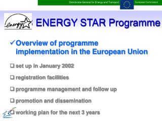 EC ENERGY STAR Programme