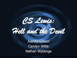 CS Lewis: Hell and the Devil