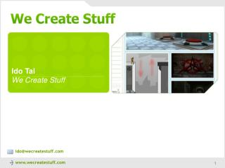 Ido Tal We Create Stuff