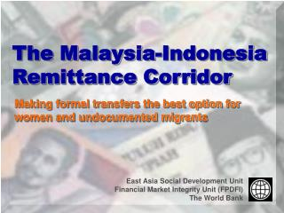 The Malaysia-Indonesia Remittance Corridor