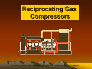 Reciprocating Gas  Compressors