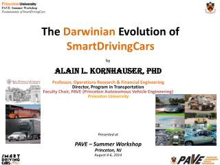 The  Darwinian  Evolution of  SmartDrivingCar s