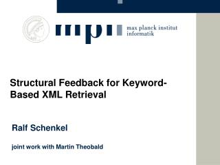 XML Information Retrieval