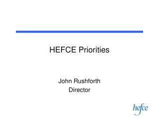 HEFCE Priorities