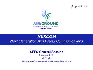 NEXCOM Next Generation Air/Ground Communications