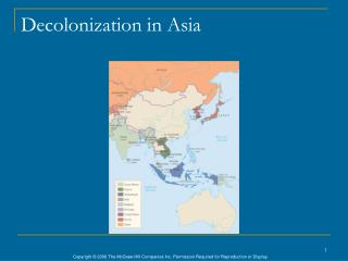 Decolonization in Asia