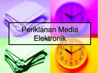 Periklanan Media Elektronik