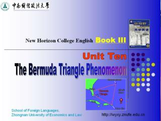 The Bermuda Triangle Phenomenon