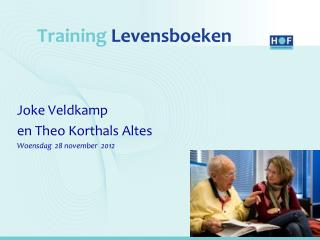 Training Levensboeken