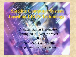Satellite Computer System based on LEON Technology