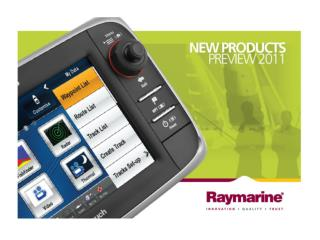 New Raymarine DNA –  e7(D) HybridTouch Display