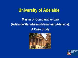 University of Adelaide