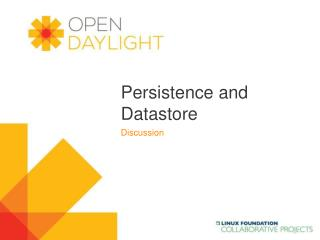 Persistence and Datastore