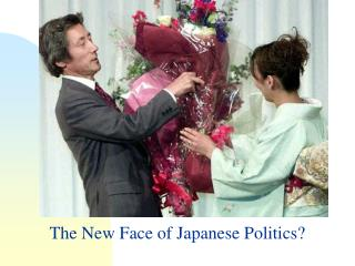 The New Face of Japanese Politics?