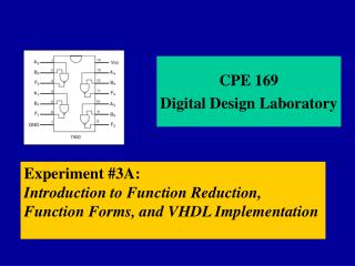 CPE 169  Digital Design Laboratory