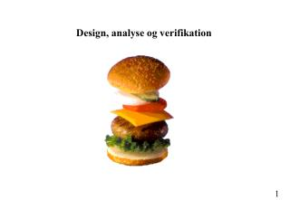 Design, analyse og verifikation