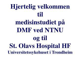 Semesterkoordinator (1A): Overlege/prof. II  Bjørn Hilt Arbeidsmedisinsk avdeling,