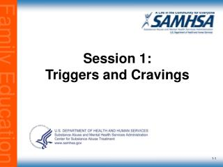 Session 1: Triggers and Cravings