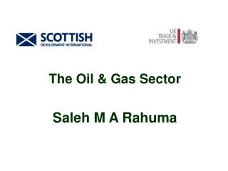 The Oil & Gas Sector Saleh M A Rahuma