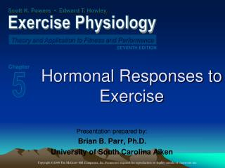 Hormonal Responses to Exercise
