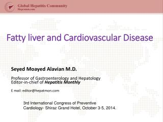 Fatty liver and Cardiovascular Disease