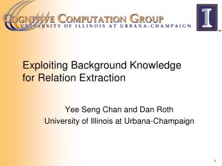 Exploiting Background Knowledge for Relation Extraction