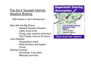 The Do It Yourself Internet  Weather Briefing