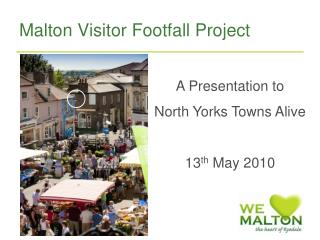 Malton Visitor Footfall Project