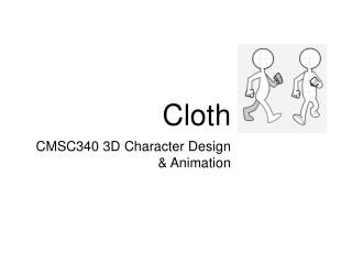 CMSC340 3D Character Design & Animation