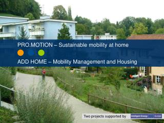 Redesigning transportation in residential areas