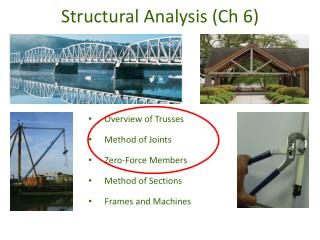 Structural Analysis (Ch 6)