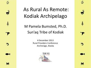 As Rural As Remote: Kodiak Archipelago