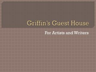 Griffin's Guest House