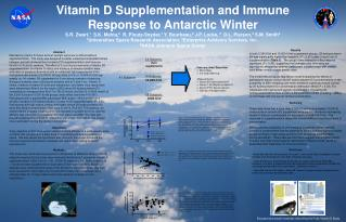 Vitamin D Supplementation and Immune Response to Antarctic Winter
